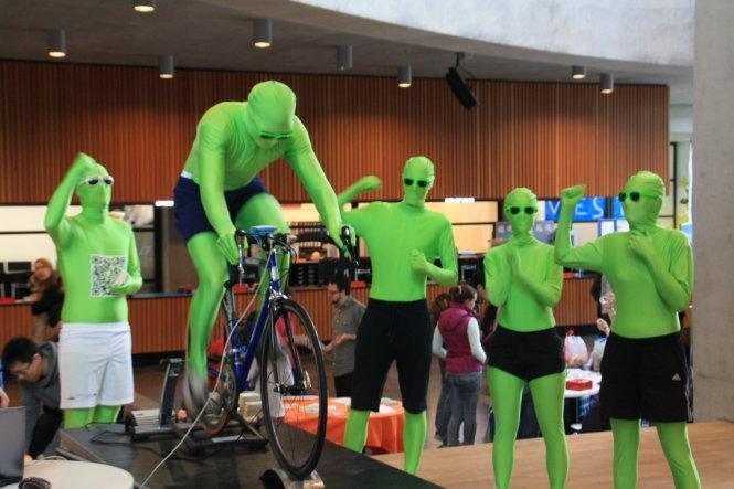 Green Man của ĐH nghiên cứu Wageningen (Hà Lan). Nguồn: website của trường
