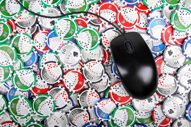 online casino poker concept