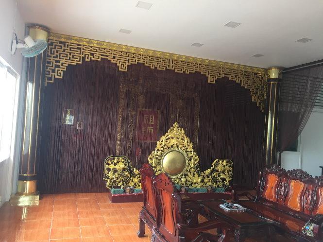 Một phần không gian của ngôi nhà 133 Cô Bắc - nơi mong muốn được trưng bày tư liệu về truyền thống hội nghệ sĩ ái hữu tương tế