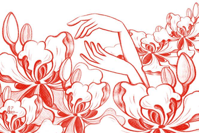 Minh họa: Đỏ