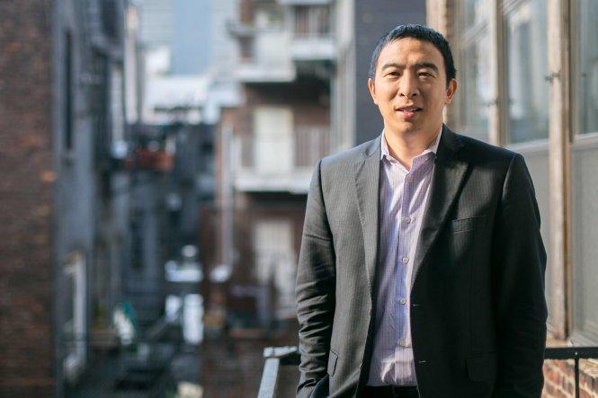 Andrew Yang. Ảnh: yang2020.com