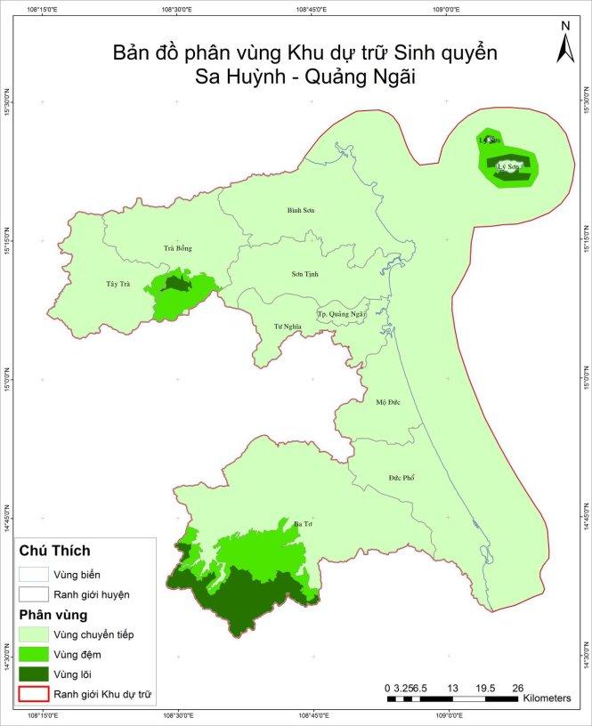 Bản đồ phân vùng