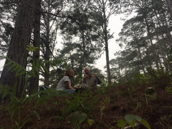 Ông Hugo với tình yêu thiên nhiên ở Việt nam