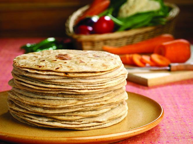 Bánh mì Roti của Ấn Độ. Ảnh: tokomesin.com