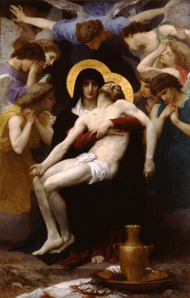 Bức tranh Pietà xuất hiện trong MV Chạy ngay đi của Sơn Tùng MT-P. Ảnh: wikimedia