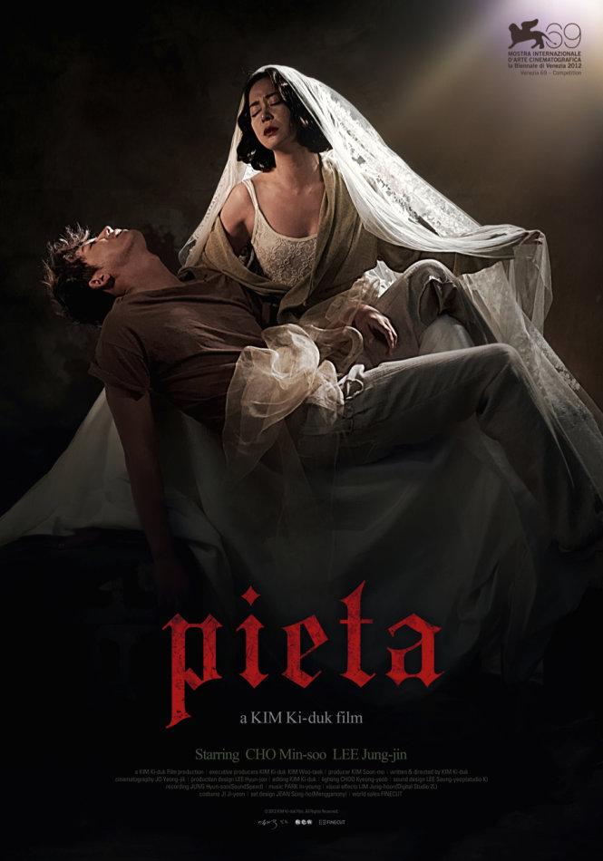 Poster bộ phim Pietà của đạo diễn Hàn Quốc Kim Ki Duk. Ảnh: Pinterest