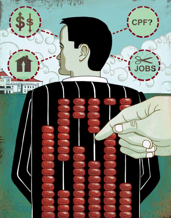 Những trăn trở của ông Lý Hiển Long gắn liền với quốc kế dân sinh và tương lai quốc gia - dân tộc. Ảnh: NUS