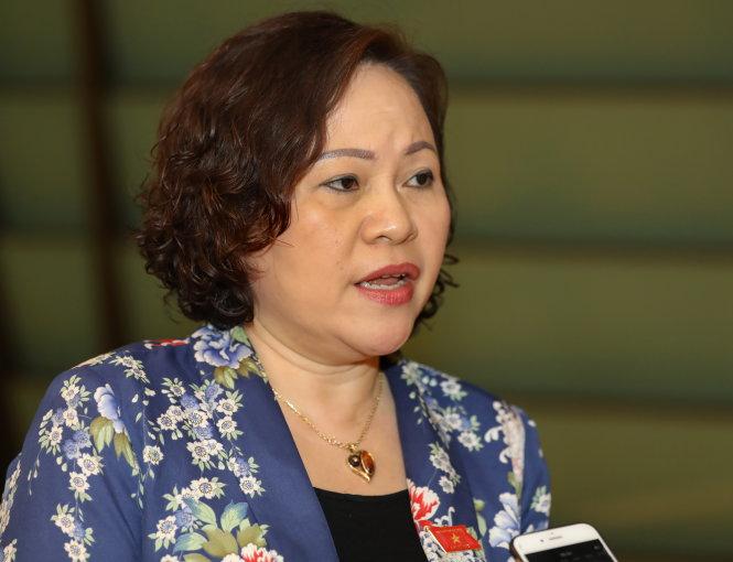 Bà Ngô Thị Minh. Ảnh: Việt Dũng