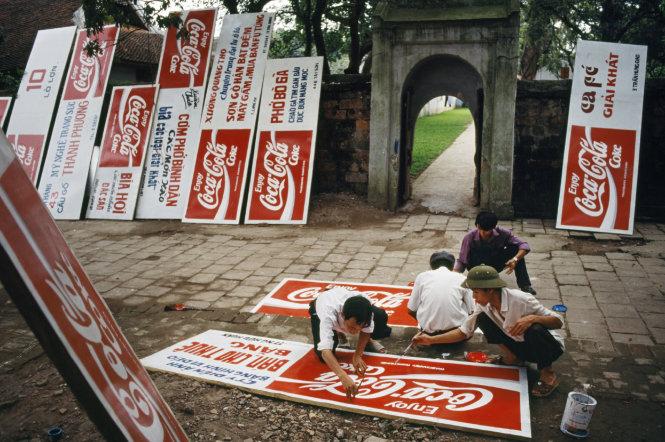 Coca-Cola tới Việt Nam, 1995