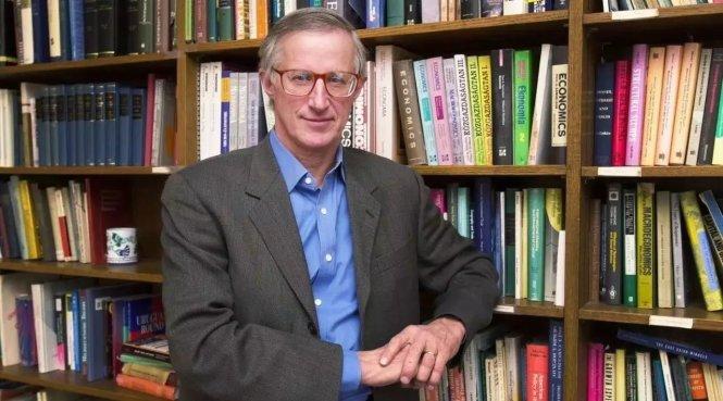 Nhà kinh tế học William D. Nordhaus. Ảnh: Đại học Yale