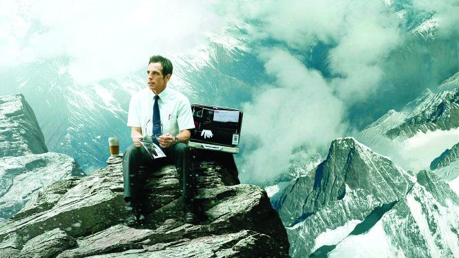 Diễn viên Ben Stiler đạo diễn, đồng sản xuất và đóng vai chính trong bộ phim cùng tên, chuyển thể từ truyện ngắn Cuộc đời bí mật của Walter Mitty. Ảnh: Lifeteen.com