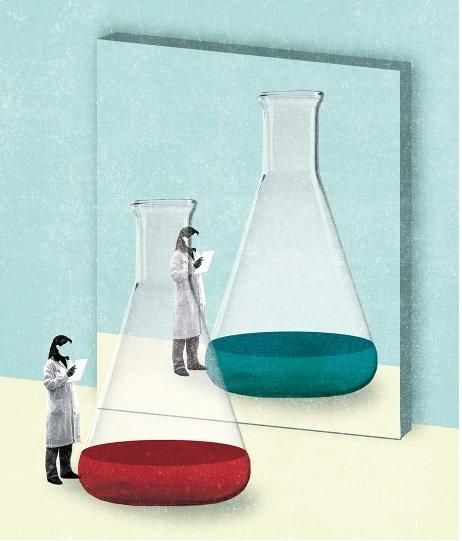Khoa học bắt đầu từ sự hoài nghi.-Ảnh: PS Illustration