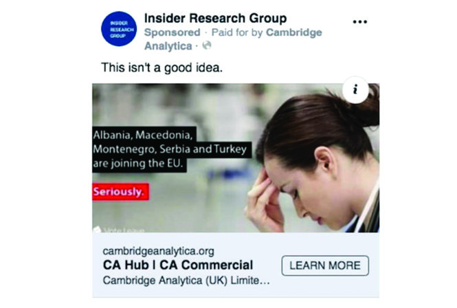 Những mối nguy từ quảng cáo trên Facebook