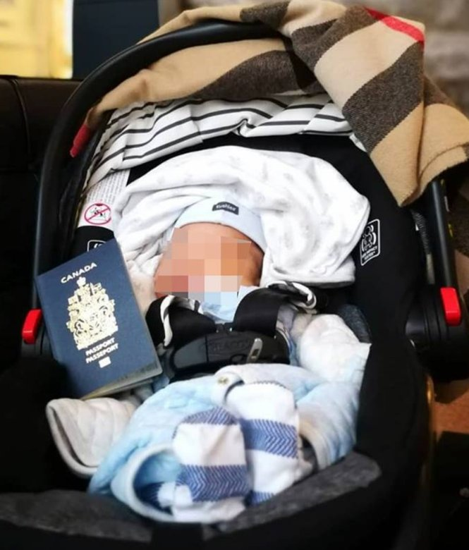Tấm hộ chiếu Canada đủ hấp dẫn để du lịch sinh con trở thành một ngành kinh tế thực thụ. Ảnh: scmp.com