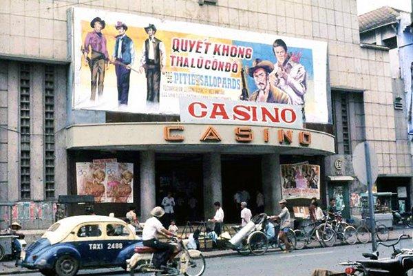 Rạp Casino ở Sài Gòn ngày trước.