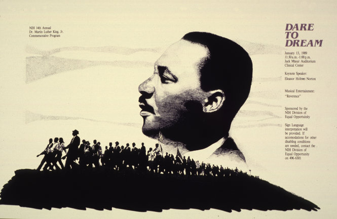 Martin Luther King Junior (1929-1968). Ảnh: nih.gov