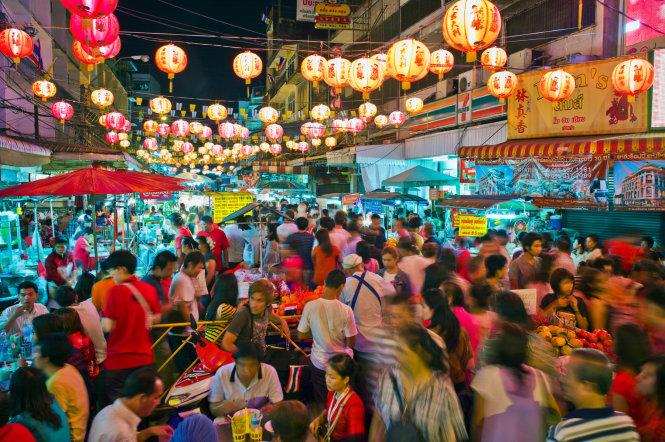 Lĩnh vực kinh tế không chính thức từ lâu đã là một bộ phận thiết yếu của tổng thể nền kinh tế Thái Lan. Ảnh: Lonely Planet