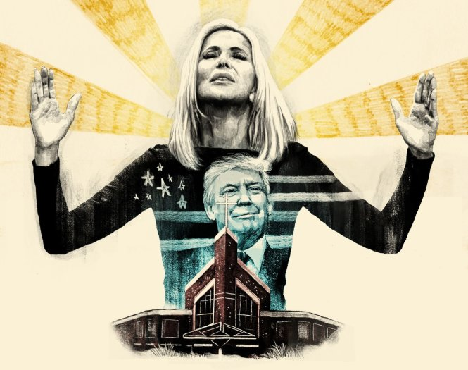Những nhân vật tôn giáo - đôi khi đầy tranh cãi - có vai trò rất lớn trong mọi mặt đời sống Mỹ, bao gồm đời sống chính trị ở mức cao nhất. Ảnh: Washington Post
