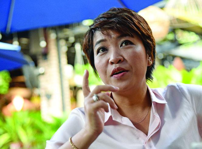 TS Lê Thị Linh Trang. Ảnh: Tự Trung