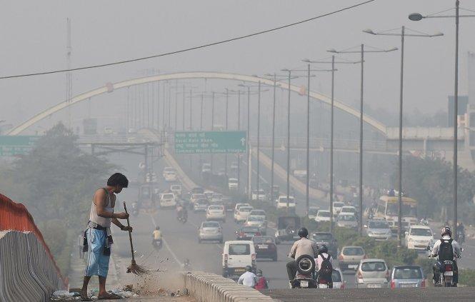 Khu vực Nam Á và Đông Nam Á là vùng ô nhiễm không khí trầm trọng bậc nhất thế giới ở các đô thị lớn. Ảnh: Getty Images