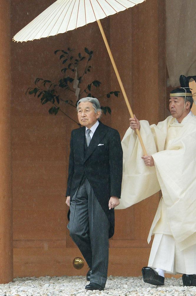 Thiên hoàng Akihito sẽ thoái vị, triều đại mới ở Nhật Bản sẽ bắt đầu từ 1-5-2019. Ảnh: The Japan Times