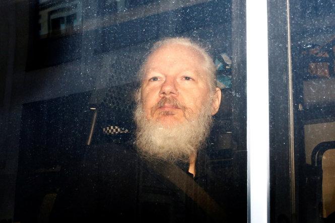 Assange bị bắt giữ ở London. -Ảnh: Shutterstock
