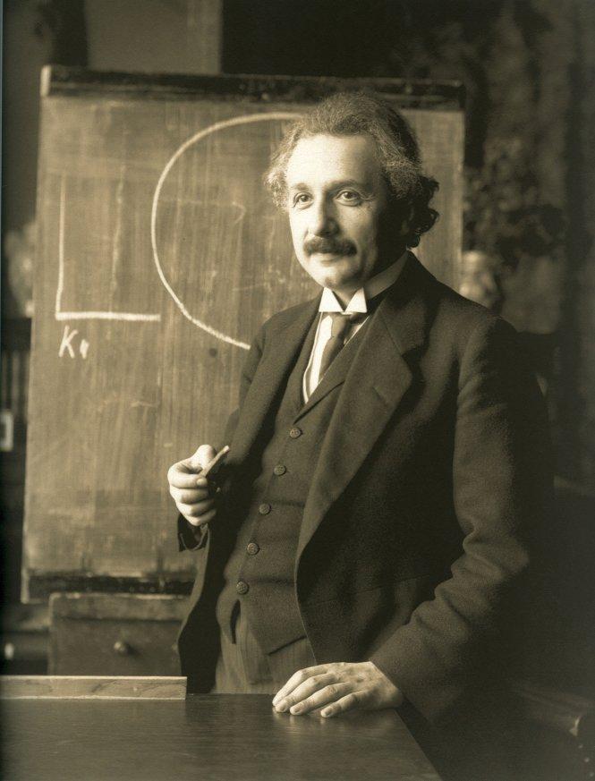 Albert Einstein. Ảnh: Wikipedia.org