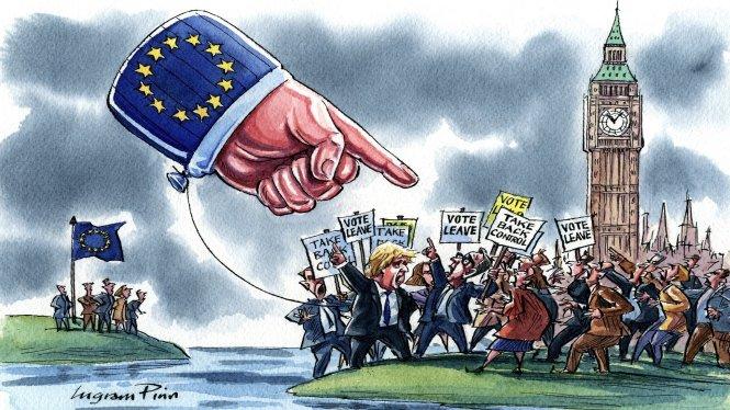 Brexit gây rất nhiều chia rẽ ở Anh. Ảnh: Financial Times