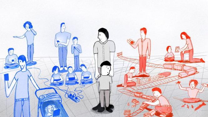 WHO khuyến cáo trẻ em nên tránh tiếp xúc với màn hình càng nhiều càng tốt. Nguồn: VOX