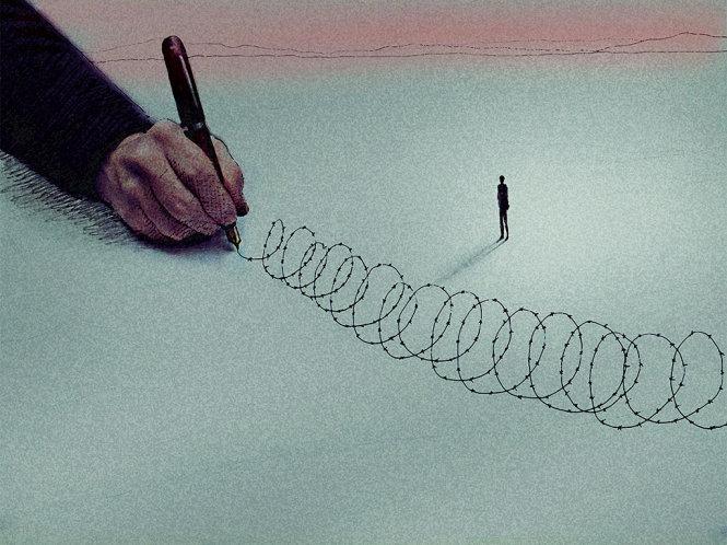 Những biên giới đã bị dỡ bỏ giờ sẽ mọc lên lại ở EU? Ảnh: europeanceo.com