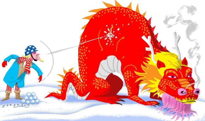 Mỹ vừa chọc giận con rồng đang trỗi dậy Trung Quốc? Ảnh: scmp.com