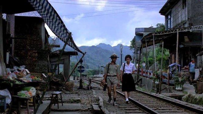 Cảnh trong phim Luyến luyến phong trần, 1986