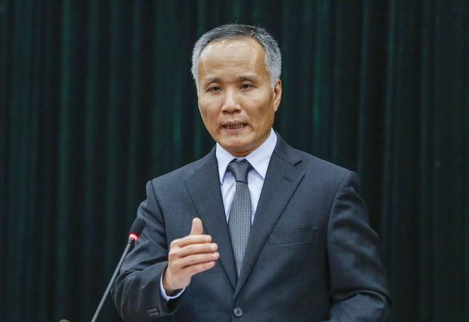 Ông Trần Quốc Khánh. Ảnh: Việt Dũng
