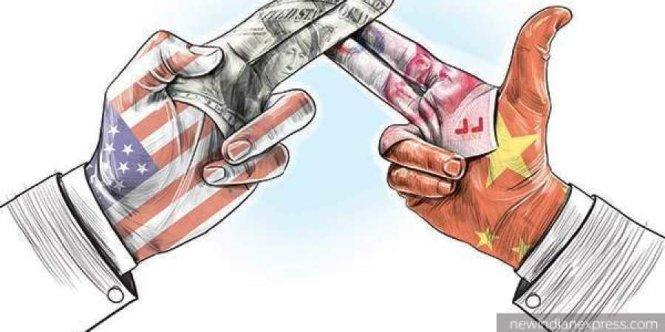 """Triển vọng """"ngừng bắn"""" trong chiến tranh thương mại Mỹ  - Trung vẫn không lấy gì làm sáng sủa. Ảnh: New Indian Express"""