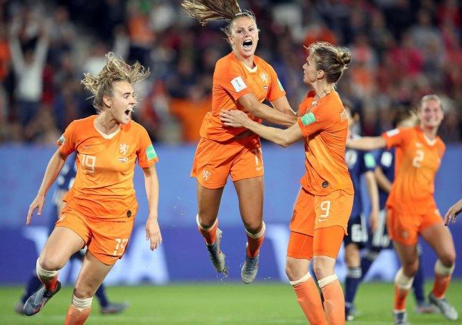 Lieke Martens, ngôi sao của Hà Lan ở World Cup nữ 2019. Ảnh: Globe and Mail