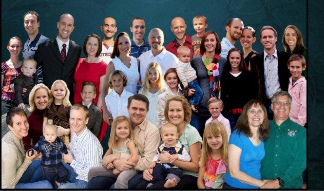 Gia đình ông Thompson.