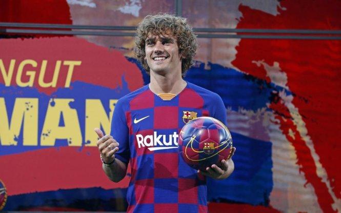 Griezmann nhận được rất nhiều lời chào mời nhưng anh chỉ muốn đến Barca. Ảnh: FC Barcelona