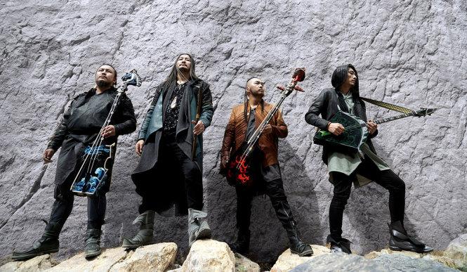 The Hu tìm lại những bản sắc Mông Cổ và muốn một phân loại riêng cho âm nhạc của họ. Ảnh: downloadfestival.co.uk