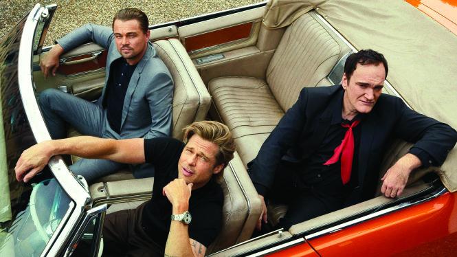 Leonardo DiCaprio, Brad Pitt và đạo diễn Quentin Tarantino. Ảnh: Imdb