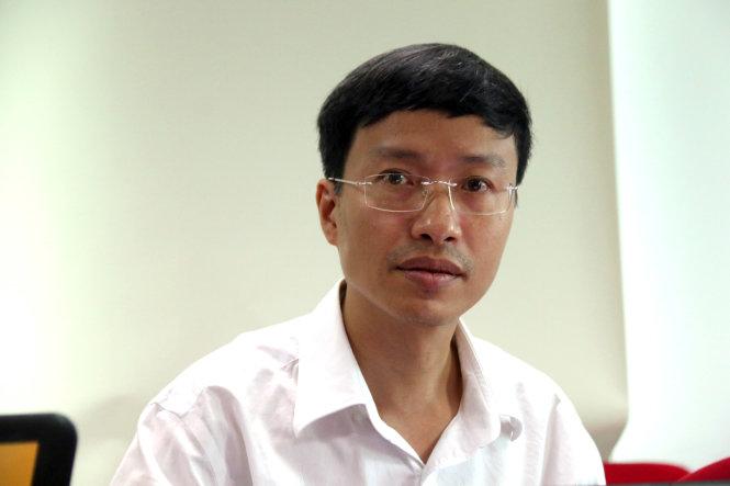 Ông Phan Trọng Lân - -viện trưởng Viện Pasteur TP.HCM. Ảnh: Hữu Khoa