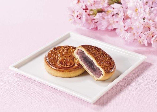 Bánh trung thu của Nhật Bản.