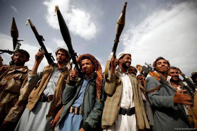 Các tay súng Houthi. Ảnh: Middles East Monitor