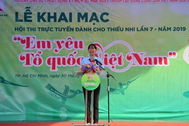 Hội thi Em yêu Tổ Quốc Việt Nam