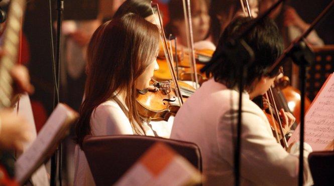 Vị trí nhạc công trong dàn nhạc, cũng như vị trí của nghệ sĩ trên poster biểu diễn, là một hệ thống thứ bậc rạch ròi. Ảnh: Berklee Music School