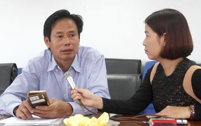 Ông Nguyễn Gia Liêm, phó cục trưởng Cục Quản lý lao động ngoài nước, Bộ LĐ-TB&XH. -Ảnh: VIỆT DŨNG