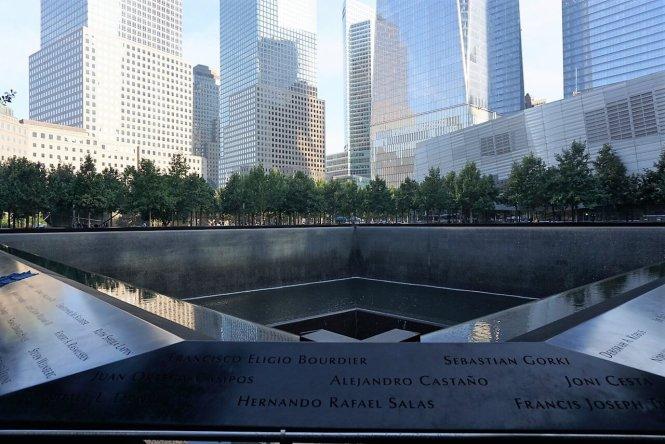 Công trình tưởng niệm ngày 11- 9 tại Mỹ