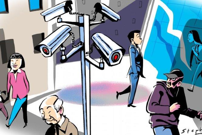 Hệ thống CCTV nếu sử dụng đúng sẽ giúp thành phố an toàn hơn. Ảnh: South China Morning Post
