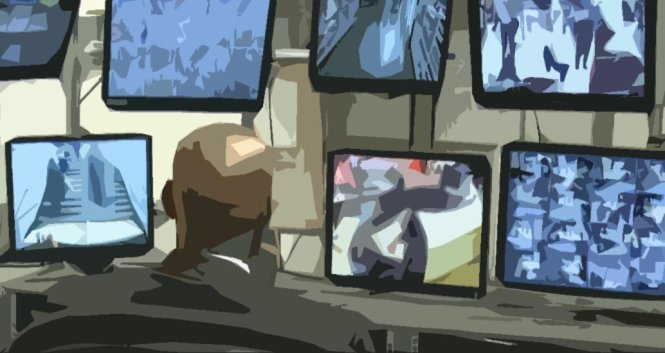 Đa số hệ thống CCTV hiện nay đều cần nhân sự quan sát và kiểm soát. Ảnh: kenvisiontechniks.com