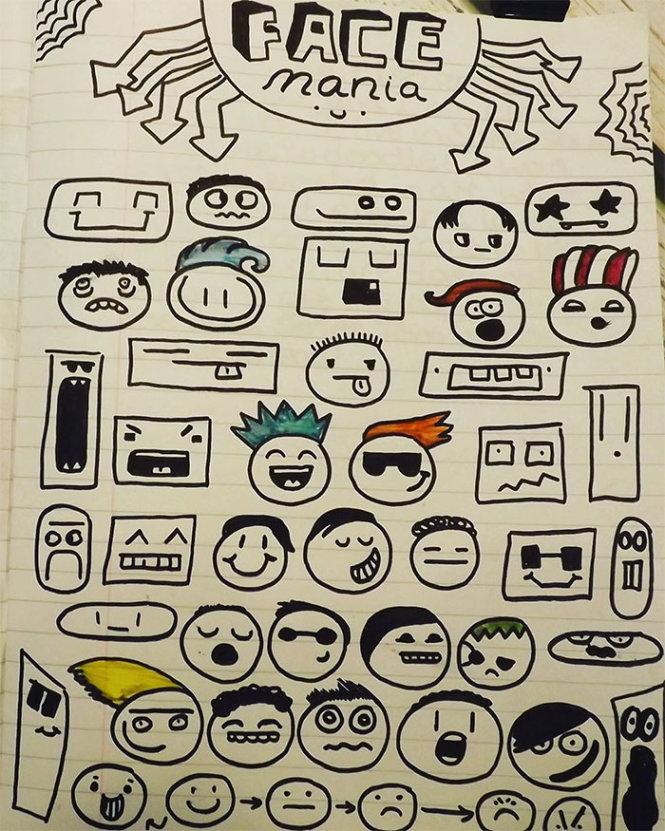 Những hình vẽ của Joe khi em còn nhỏ.