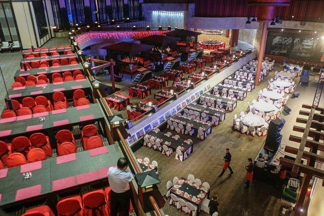 Nhà hàng Tàu ở St. Petersburg được cho là lớn nhất châu Âu. Ảnh: KP